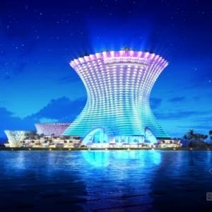 skyline设计的三亚海棠湾亚特兰蒂斯度假酒店