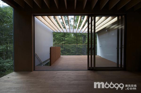 森林中的架空度假别墅 - 别墅作品 - 建筑时空 - 建筑