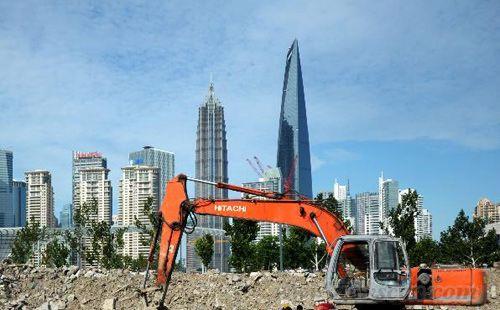 """上海外滩""""双子塔""""将开建"""