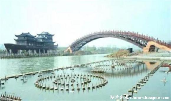 世界最大跨度木拱桥建成开通 单跨跨度75.7米 图