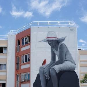 街头艺术涂鸦云集马达加斯加小岛